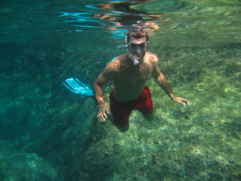 Snorkel en playa virgen