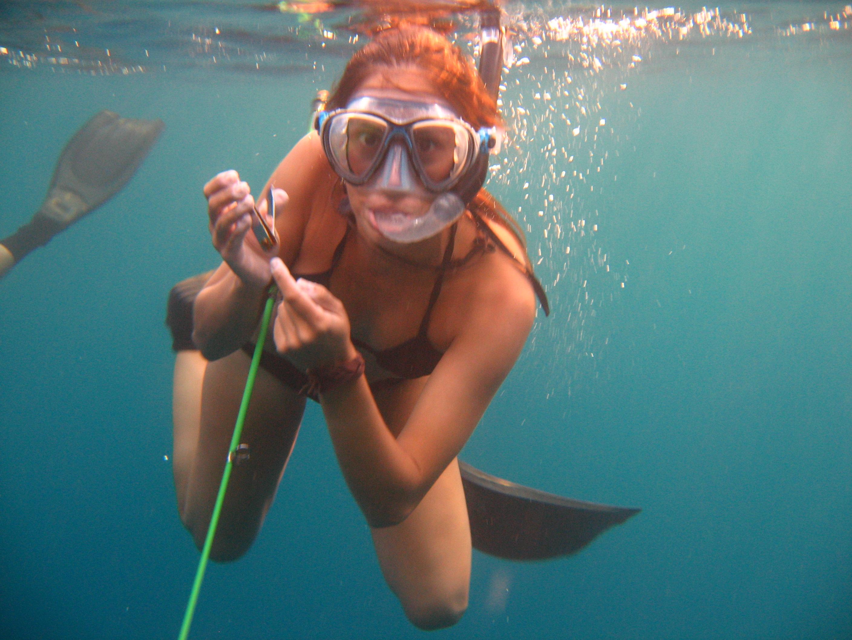 Viendo vida marina
