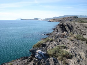 Hiking along the coast of Mazarrón